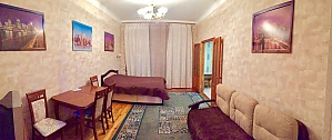 Center Apartment with 3 separate rooms Arena Gulliver Palace of Sports Bessarabskyi market, Two Bedroom, 003