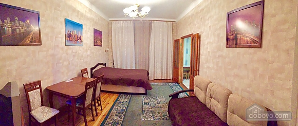 Center Apartment with 3 separate rooms Arena Gulliver Palace of Sports Bessarabskyi market, Dreizimmerwohnung (83369), 003