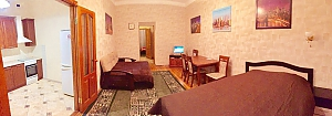 Center Apartment with 3 separate rooms Arena Gulliver Palace of Sports Bessarabskyi market, Two Bedroom, 002
