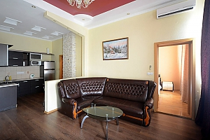 Luxury apartment in palace style with Jacuzzi in two steps from Khreschatyk, Deux chambres, 002