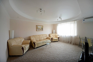 Bright and cozy apartments with Italian leather furniture near the Arena city and Mandarin Plaza, Una Camera, 001