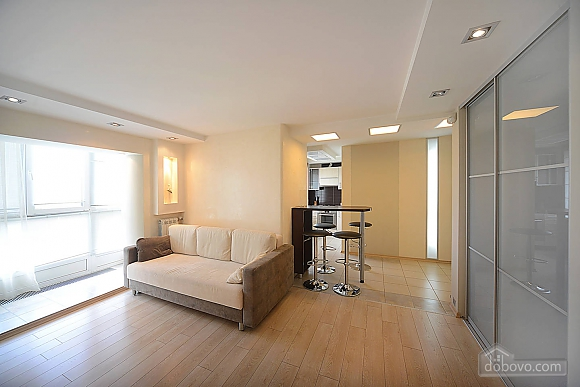 Ideally located apartment in the hi-tech style for business families and guests of the capital, One Bedroom (54335), 008