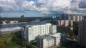 Euro apartment in a new building overlooking the Neva, Studio, 004