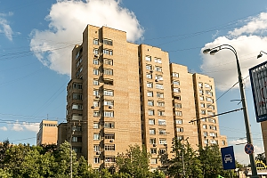 Apartment between Dinamo and Beregovaya stations, Dreizimmerwohnung, 002