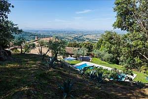 Small Tuscany villa for two with swimming pool, Un chambre, 001