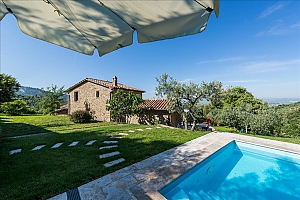 Small Tuscany villa for two with swimming pool, Un chambre, 002