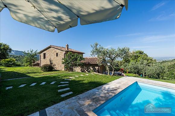 Невелика Тоскана вілла для двох з бассейном, 2-кімнатна (97685), 002