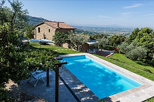 Small Tuscany villa for two with swimming pool, Un chambre, 003