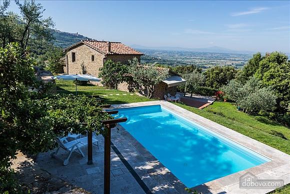 Невелика Тоскана вілла для двох з бассейном, 2-кімнатна (97685), 003