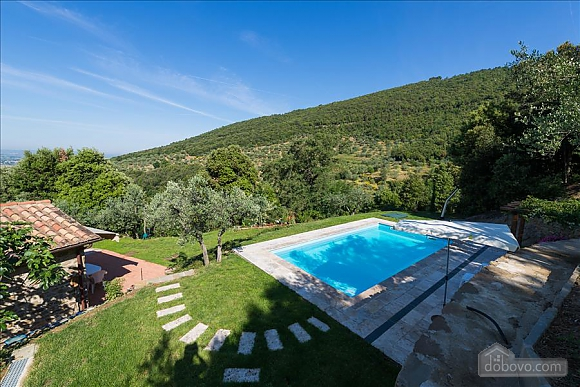 Small Tuscany villa for two with swimming pool, Zweizimmerwohnung (97685), 004