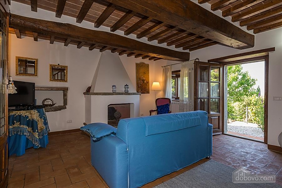 Small Tuscany villa for two with swimming pool, Zweizimmerwohnung (97685), 006