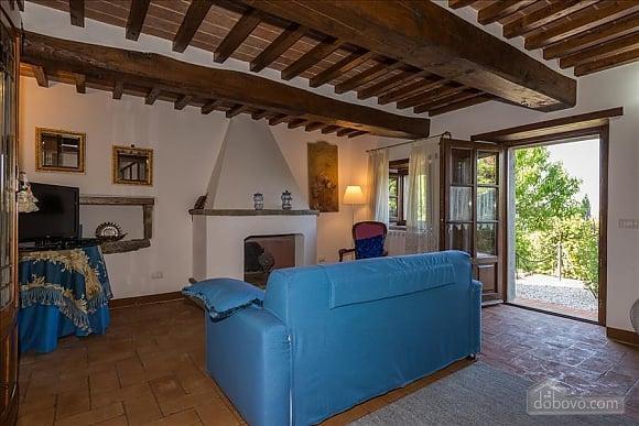 Невелика Тоскана вілла для двох з бассейном, 2-кімнатна (97685), 006