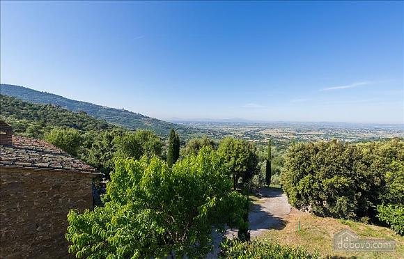 Невелика Тоскана вілла для двох з бассейном, 2-кімнатна (97685), 007