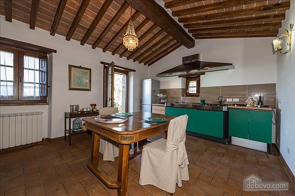 Невелика Тоскана вілла для двох з бассейном, 2-кімнатна (97685), 009