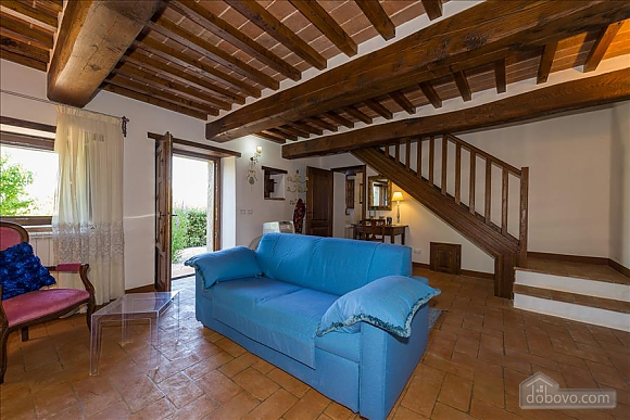 Small Tuscany villa for two with swimming pool, Zweizimmerwohnung (97685), 011