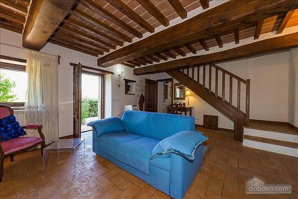 Невелика Тоскана вілла для двох з бассейном, 2-кімнатна (97685), 011