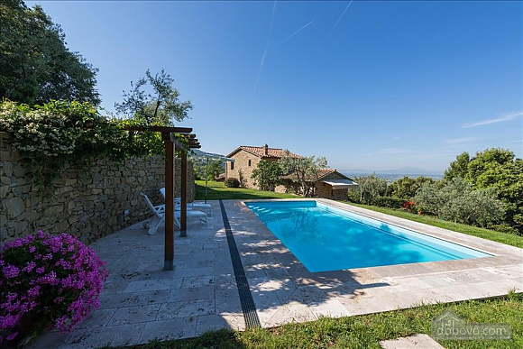 Small Tuscany villa for two with swimming pool, Zweizimmerwohnung (97685), 013