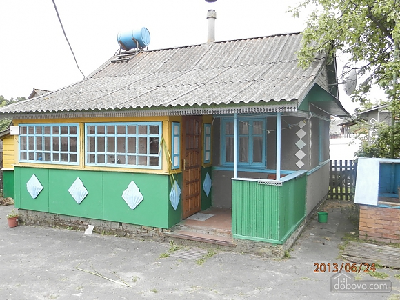 Separate house with all the comforts for 2-3 people in Svityaz, Una Camera (12353), 002