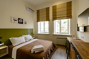 Street view double room with shower, Studio, 001