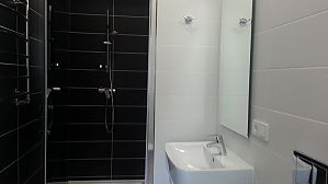 Street view double room with shower, Studio, 003