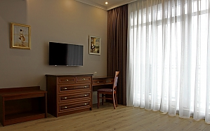 Шикарні апартаменти з видом на море в районі Аркадії, 2-кімнатна, 002