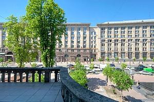 Прекрасные двухкомнатные апартаменты на Крещатике напротив Майдана, 2х-комнатная, 017