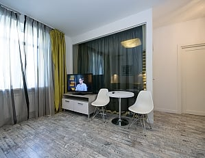 Stylish quiet one bedroom apartment with sofa bed, Un chambre, 003