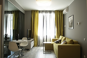 Luxury connected apartments in the heart of Kiev, Deux chambres, 001