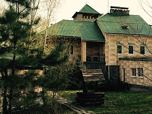 House with fireplace near the lake, Trois chambres, 003