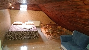 House with fireplace near the lake, Three Bedroom, 001