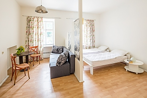 Studio apartment in the city center, Studio, 001