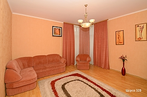 Apartment at Pecherska metro station , One Bedroom, 001