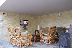 House with a terrace, Two Bedroom, 035