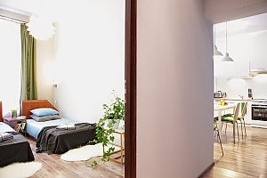 Adorable apartment with two bedrooms, Dreizimmerwohnung, 003