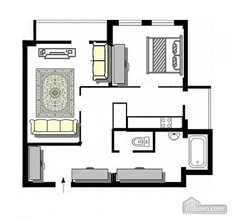 Apartment in the center near the botanical garden, Una Camera (63686), 018
