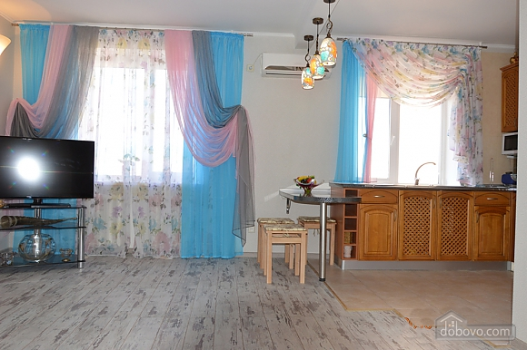 Light cozy apartment in Arcadia with sea view, One Bedroom (17974), 005