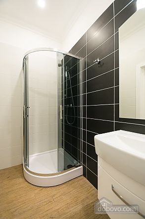 Light studio street view apartment with shower and sofa bed, Studio (48654), 005