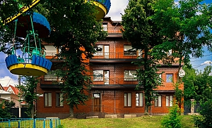 VIP apartment with kitchen in the private hotel in Gagarin park, Two Bedroom, 010