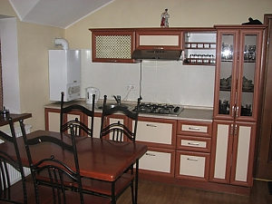 VIP apartment with kitchen in the private hotel in Gagarin park, One Bedroom, 004