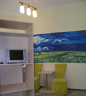 Bright apartment in Kharkov, Studio, 002