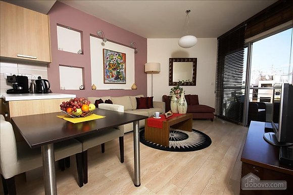 Two bedroom apartment with side sea view, Deux chambres (18076), 001