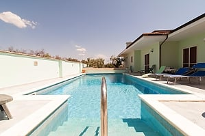 Villa with pool and spacious garden, Una Camera, 004