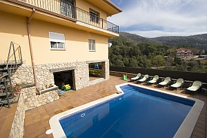 Villa Sant Iscle in Costa Maresme only 15 minutes to the beach, Cinq chambres, 003