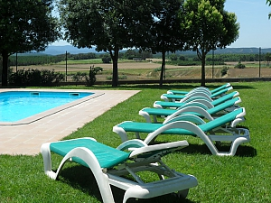 Holiday country house for rent in Riudarenes, Six (+) chambres, 004