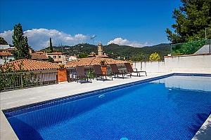 Mountainside Sant Feliu villa for 8 guests 35km from Barcelona, Three Bedroom, 004