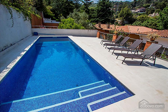 Mountainside Sant Feliu villa for 8 guests 35km from Barcelona, Tre Camere (19207), 009