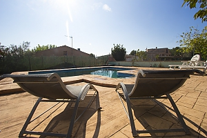 Relaxing Mas Borras villa in Costa Dorada only 5 minutes to the beach, Vierzimmerwohnung, 002