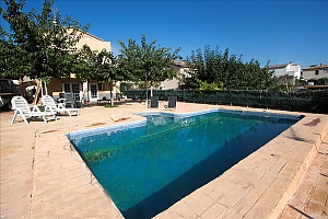 Relaxing Mas Borras villa in Costa Dorada only 5 minutes to the beach, Vierzimmerwohnung, 003