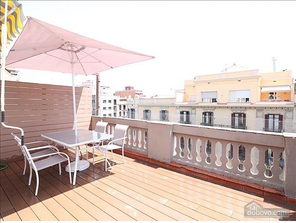 El Ejecutivo - Bright Studio with big terrace (Eixample), Studio (41077), 011