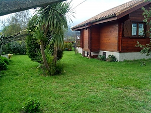 Charming family friendly log cabin near the beach, Deux chambres, 002